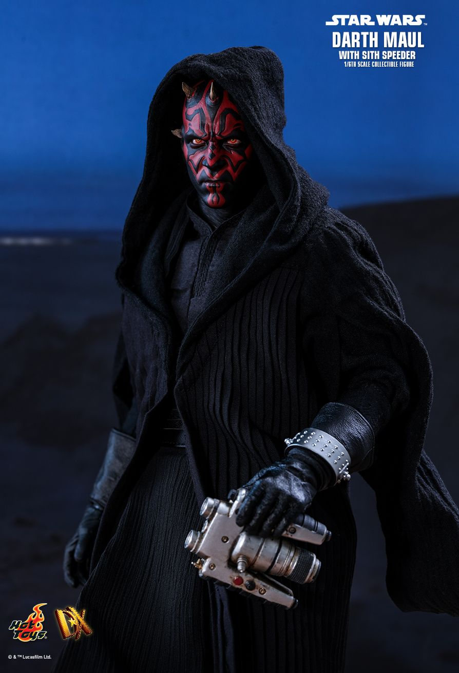 JualHotToys.com Toko JUAL HOT TOYS Darth Maul with Sith Speeder DX17 Star Wars 1/6 Movie Action Figure Harga Murah - MISB Produk Distributor Resmi Jakarta Indonesia