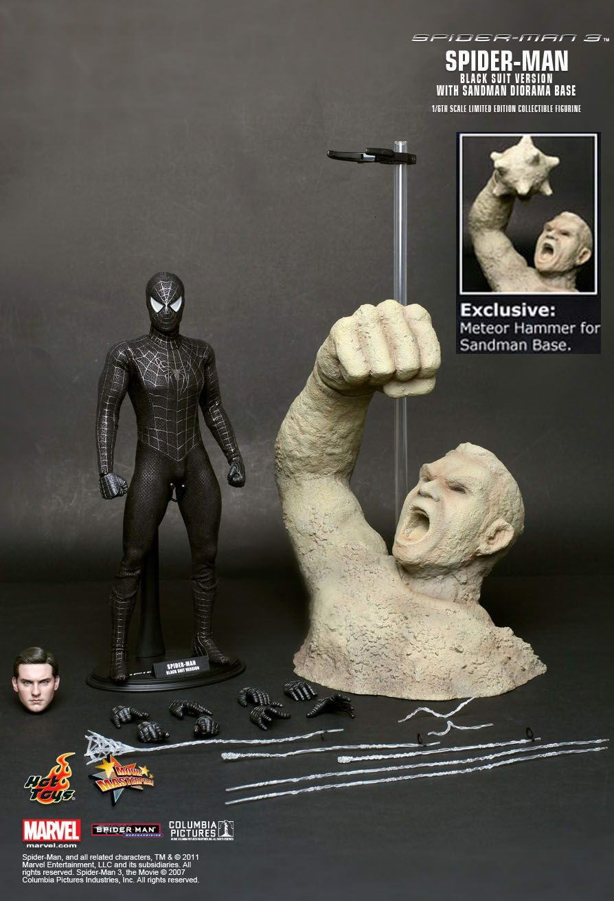 JualHotToys.com Toko JUAL HOT TOYS SPIDERMAN BLACK Special Edition MMS165 1/6 Movie Action Figure Harga Murah - MISB Produk Distributor Resmi Jakarta Indonesia