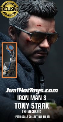 JualHotToys.com Toko JUAL HOT TOYS Tony Stark The Mechanic Special Edition MMS209 1/6 Movie Action Figure Harga Murah - MISB Produk Distributor Resmi Jakarta Indonesia