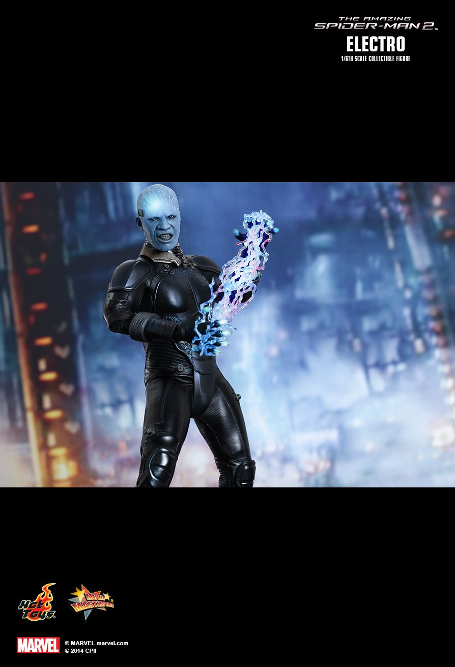 JualHotToys.com Toko JUAL HOT TOYS ELECTRO The Amazing Spiderman 2 MMS246 1/6 Movie Action Figure Harga Murah - MISB Produk Distributor Resmi Jakarta Indonesia