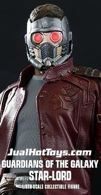 JualHotToys.com Toko JUAL HOT TOYS Guardians Of The Galaxy STAR LORD MMS255 1/6 Movie Action Figure Harga Murah - MISB Produk Distributor Resmi Jakarta Indonesia