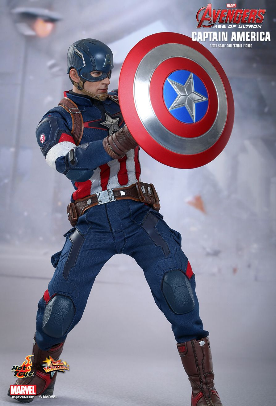 JualHotToys.com Toko HOT TOYS CAPTAIN AMERICA Avengers Age Of Ultron MMS281 1/6 Movie Action Figure Harga Murah - MISB Produk Distributor Resmi Jakarta Indonesia