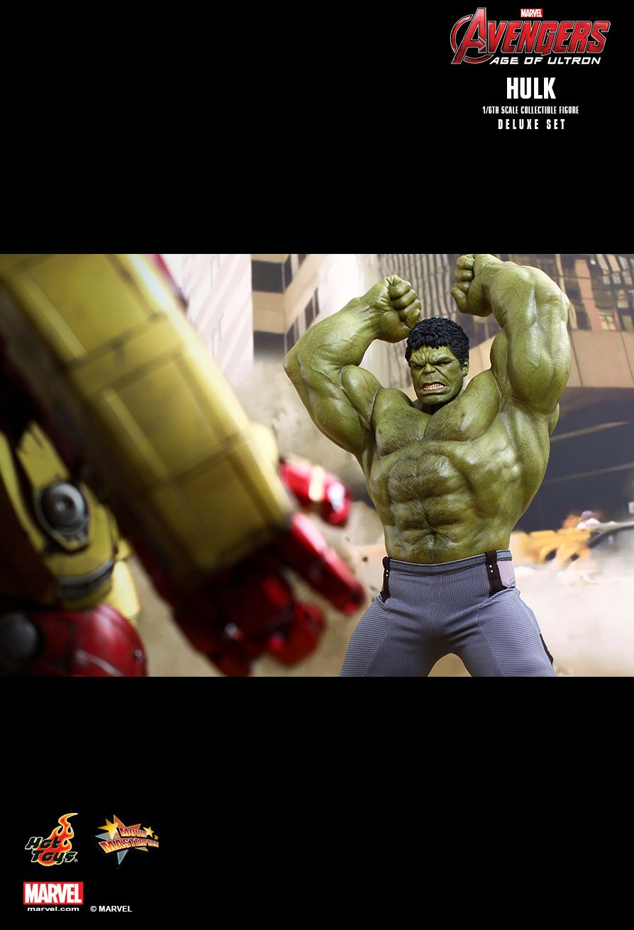 JualHotToys.com Toko HOT TOYS HULK DELUXE Avengers Age Of Ultron MMS287 1/6 Movie Action Figure Harga Murah - MISB Produk Distributor Resmi Jakarta Indonesia