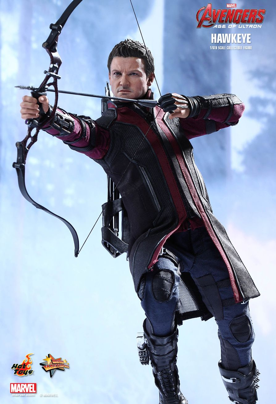 JualHotToys.com Toko HOT TOYS HAWKEYE Avengers Age Of Ultron MMS289 1/6 Movie Action Figure Harga Murah - MISB Produk Distributor Resmi Jakarta Indonesia
