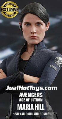 JualHotToys.com Toko HOT TOYS MARIA HILL Avengers Age Of Ultron MMS305 1/6 Movie Action Figure Harga Murah - MISB Produk Distributor Resmi Jakarta Indonesia