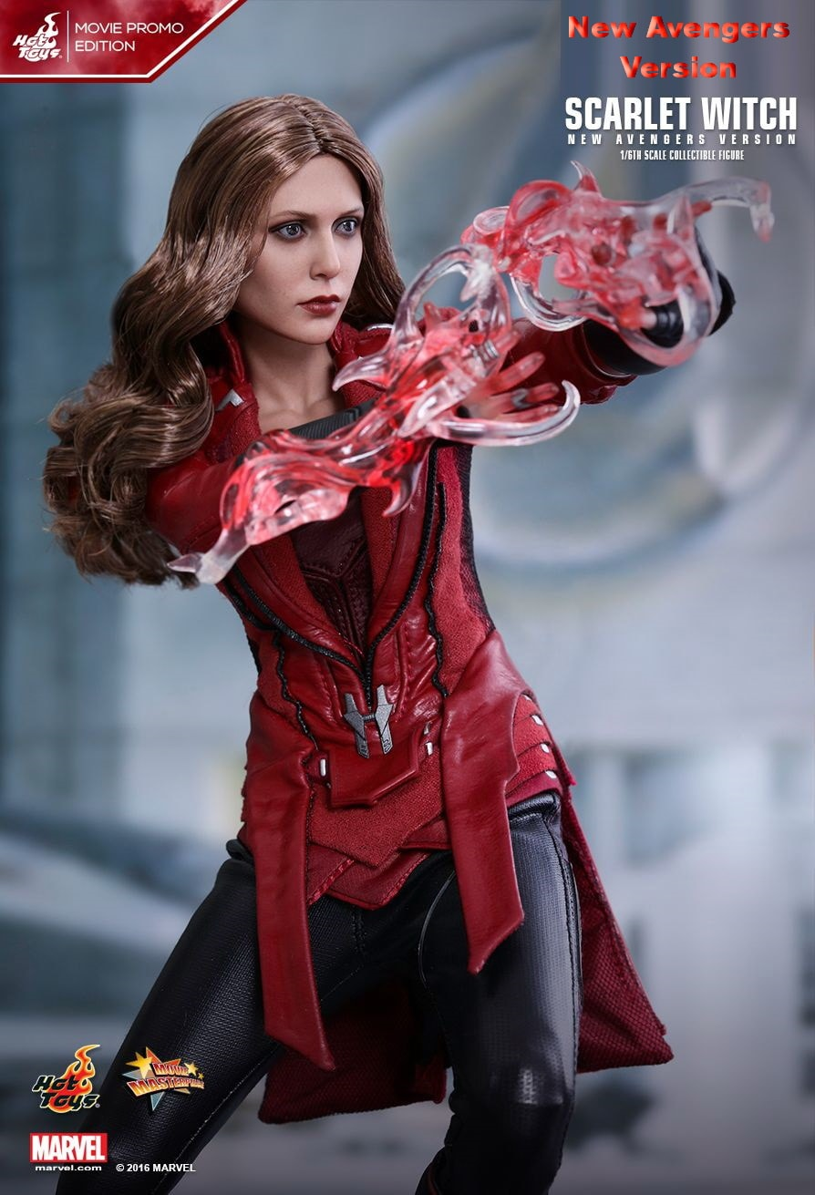 JualHotToys.com Toko JUAL HOT TOYS Scarlet Witch New Avengers MMS357 1/6 Movie Action Figure Harga Murah - MISB Produk Distributor Resmi Jakarta Indonesia