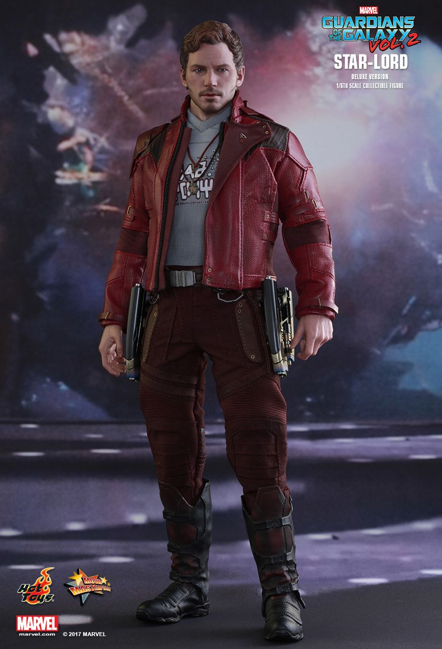 JualHotToys.com Toko JUAL HOT TOYS Star Lord Deluxe Guardians of the Galaxy 2 MMS421 1/6 Movie Action Figure Harga Murah - MISB Produk Distributor Resmi Jakarta Indonesia