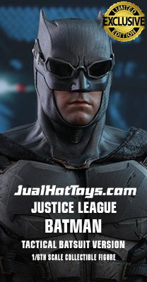 JualHotToys.com Toko JUAL HOT TOYS MMS432 Batman Tactical Batsuit Version Justice League 1/6 Movie Action Figure Harga Murah - MISB Produk Distributor Resmi Jakarta Indonesia