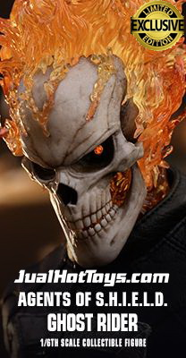 JualHotToys.com Toko JUAL HOT TOYS Ghost Rider Agents Of Shield TMS005 1/6 Movie Action Figure Harga Murah - MISB Produk Distributor Resmi Jakarta Indonesia