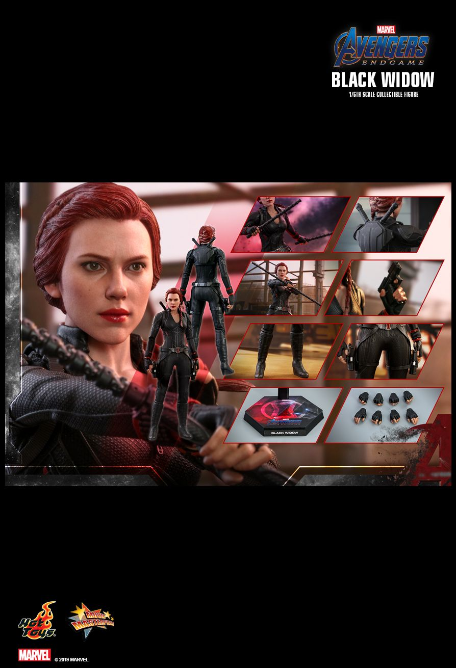 Jualhottoys Com Hot Toys Black Widow Avengers Endgame Mms533